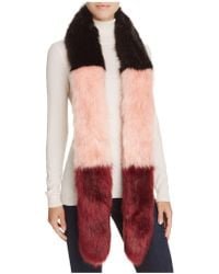 Cara - Color-block Stole - 100% Bloomingdale's Exclusive - Lyst