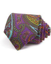Robert Talbott - Allover Paisley Multi Print Classic Tie - Lyst