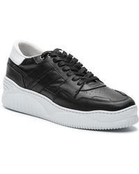 The Kooples - Men's Lace-up Leather Trainers - Lyst