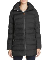 Save The Duck - Long Packable Coat - Lyst