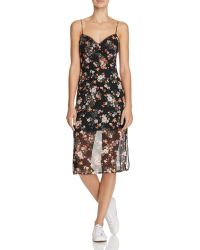 Jealous Tomato - Floral Slip Dress - Compare At $78 - Lyst
