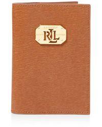 Ralph Lauren - Lauren Newbury Passport Case - Lyst