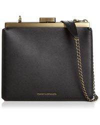 Tammy & Benjamin - Medium Leather Crossbody Clutch - Lyst