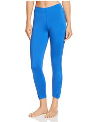 Hue - Pyramid Ruched Skimmer Leggings - Lyst