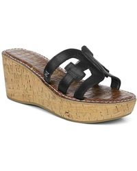 Sam Edelman - Women's Regis Platform Wedge Sandals - Lyst