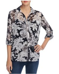 Sioni - Floral Print Blouse - Compare At $66 - Lyst