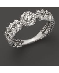 Bloomingdale's - Diamond Ring In 14k White Gold, .30 Ct. T.w. - Lyst