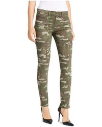 William Rast | Camouflage Utility Slim Trousers | Lyst