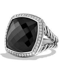 David Yurman - Albion Ring With Black Onyx And Diamonds - Lyst