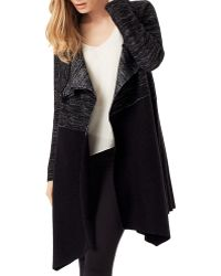 Phase Eight - Color Block Bellona Duster Cardigan - Lyst