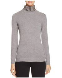 Lush - Embellished Turtleneck Jumper - Compare At $82 - Lyst