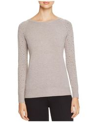 Lush - Rhinestone Sleeve Jumper - Compare At $66 - Lyst