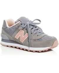New Balance 574 Low-Top Lace-Up Sneakers Ww1Ruym