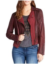 William Rast - Wilde Suede Moto Jacket - Lyst