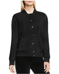 Two By Vince Camuto - Rumpled Satin Bomber Jacket - Lyst