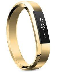 Fitbit - Luxe Alta 22k Gold Bracelet - Lyst