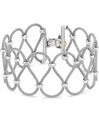 Alor - Two Tone Looped Cable Bracelet - Lyst