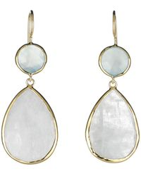 Margaret Elizabeth - Stone Drop Earrings - Lyst