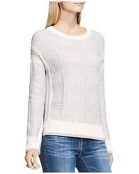 Two By Vince Camuto - Drop Shoulder Box Plaid Jumper - Lyst