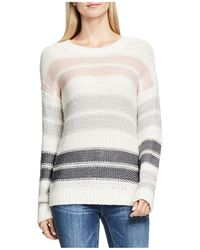 Two By Vince Camuto - Drop Shoulder Stripe Jumper - Lyst