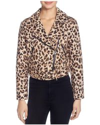 Catherine Malandrino - Veruca Leopard-print Moto Jacket - Lyst