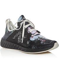 New Balance | Women's Fresh Foam Cruz Lace Up Sneakers | Lyst