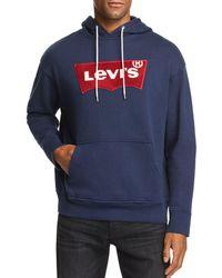 Levi's - Logo-print Hooded Sweatshirt - Lyst