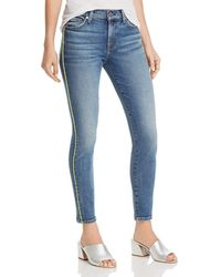 1eafb10c07797 7 For All Mankind - Neon - Piping Ankle Skinny Jeans In Luxe Vintage Muse -