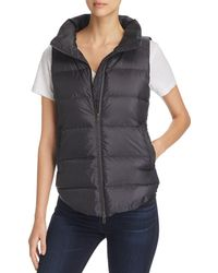 Eileen Fisher - Down Puffer Vest - Lyst