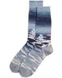 Bloomingdale's - Astronaut Socks - Lyst