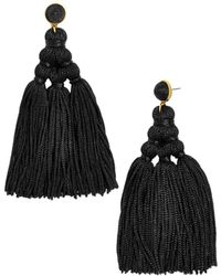 BaubleBar - Miana Tassel Drop Earrings - Lyst