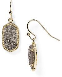 Kendra Scott | Lee Agate Drop Earrings | Lyst