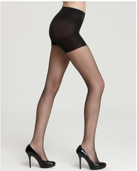 Spanx - Micro Fishnet Uptown Tights - Lyst