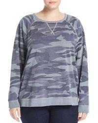 Lucky Brand - Camo Pullover Sweatshirt - Lyst