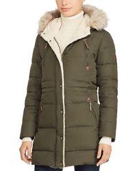 Ralph Lauren - Ralph Packable Hooded Down Coat - Lyst