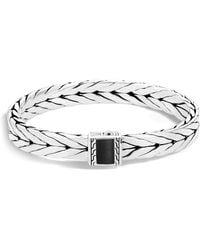 John Hardy | Sterling Silver Modern Chain Bracelet With Black Onyx | Lyst