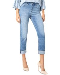 Liverpool Jeans Company - Marley Straight - Leg Jeans In Indigo Bandana - Lyst