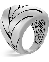 John Hardy - Sterling Silver Modern Chain Large Ring - Lyst