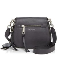 Marc Jacobs - Recruit Small Nomad Leather Saddle Bag - Lyst
