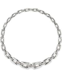 David Yurman - Wellesley Short Chain Necklace With Diamonds - Lyst
