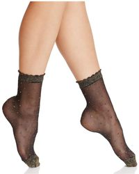 Fogal - Keira Sheer Mesh Socks - Lyst