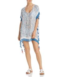 Surf Gypsy - Candy Vintage Baroque Print Swim Cover - Up - Lyst