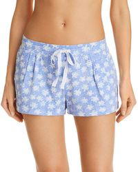Jane & Bleecker New York - Printed Knit Shorts - Lyst