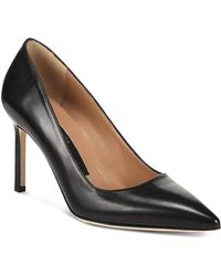 Via Spiga - Women's Nikole Leather Pointed Toe High-heel Court Shoes - Lyst