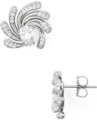 Nadri - Dappled Small Earrings - Lyst