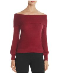 4our Dreamers | Off-the-shoulder Ribbed Sweater | Lyst