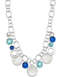 Ippolita - Sterling Silver Wonderland Mother - Of - Pearl Doublet Statement Necklace - Lyst
