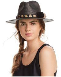 Helene Berman - Fedora Paper Hat - Lyst