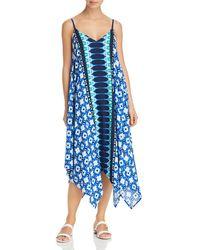 d48bb15001 Tommy Bahama - Tide Seashell Scarf Dress Swim Cover-up - Lyst