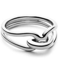 Shinola - Sterling Silver Lug Ring - Lyst